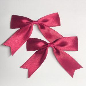 クラシカルリボン 赤 ヘアピン ヘアクリッ2個セット クラロリ 姫系 原宿系 ゴスロリ ロリータ ゆめかわいい ロリィタ